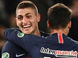 Marco Verratti is happy at PSG. GOAL