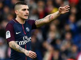 Verratti had just recovered from a sprained ankle sustained last month. GOAL