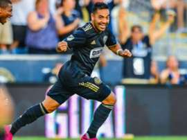 Marco Fabian helped Philadelphia stay top of the MLS. GOAL