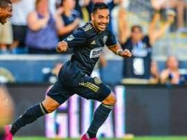Marco Fabian helped Philadelphia stay top of the MLS. GOAL