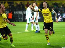 Favre pleased with Reus form