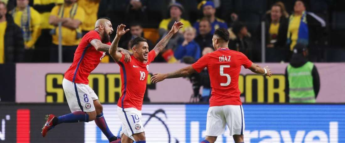 Bolados' debut goal handed Chile the victory. GOAL