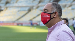 Marcos Braz testa negativo para a Covid-19 e está liberado no Flamengo