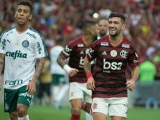 Marcos Rocha Arrascaeta Flamengo Palmeiras Brasileirão