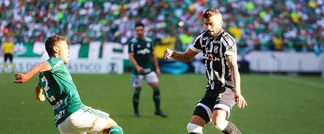 Verdão cede empate ao Ceará.Goal
