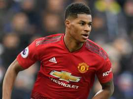 Rashford has been unable to shake off an ankle injury. GOAL