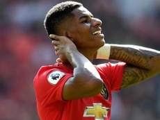 Solskjaer 'lost for words' after Rashford suffers racist abuse on social media. AFP