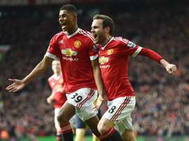 Marcus Rashford, Manchester United. GOAL