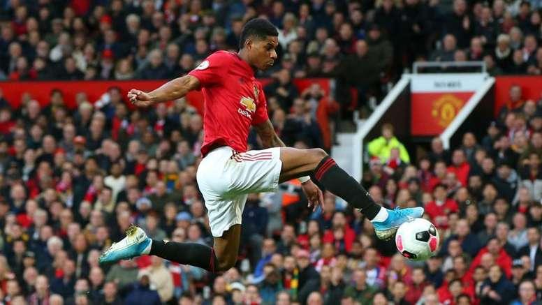 Roy Keane admits United were lucky Rashford's goal stood. GOAL