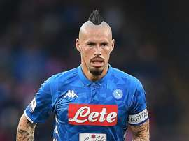 Marek Hamsik will not be joining Roma this summer. GOAL