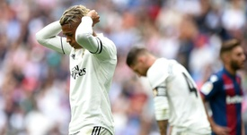 Real Madrid broke their previous record of 464 minutes without a goal. GOAL