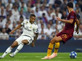 Real Madrid AS Roma Champions League. Goal
