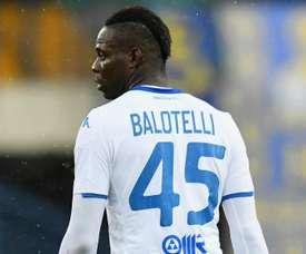 L'attaccante italiano del Brescia Balotelli. Goal