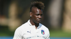 Garcia played down talk of a move for Balotelli. GOAL
