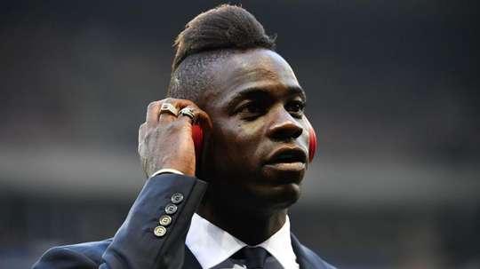 Balotelli peut débarquer à Marseille. AFP