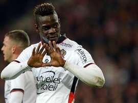 Mario Balotelli, Lille - Nice. GOAL