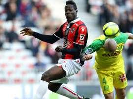 1-1 entre Nice et Nantes. Goal