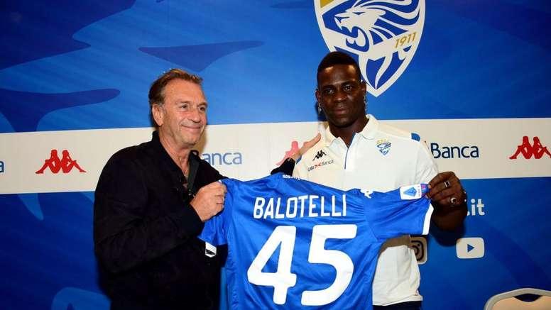 Le président de Brescia pense que Balotelli n'est plus motivé. Goal