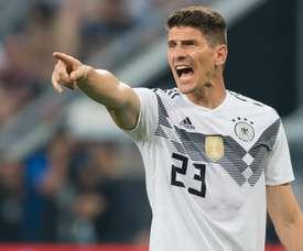 Mario Gomez Germany DFB. Goal