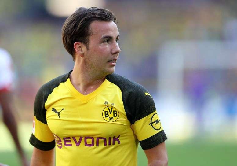 Gotze em dificuldades no Borussia. Goal
