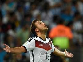 Götze sur la gloire de la Coupe du monde. Goal