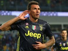 Juventus will welcome back striker Mario Mandzukic on Wednesday. GOAL