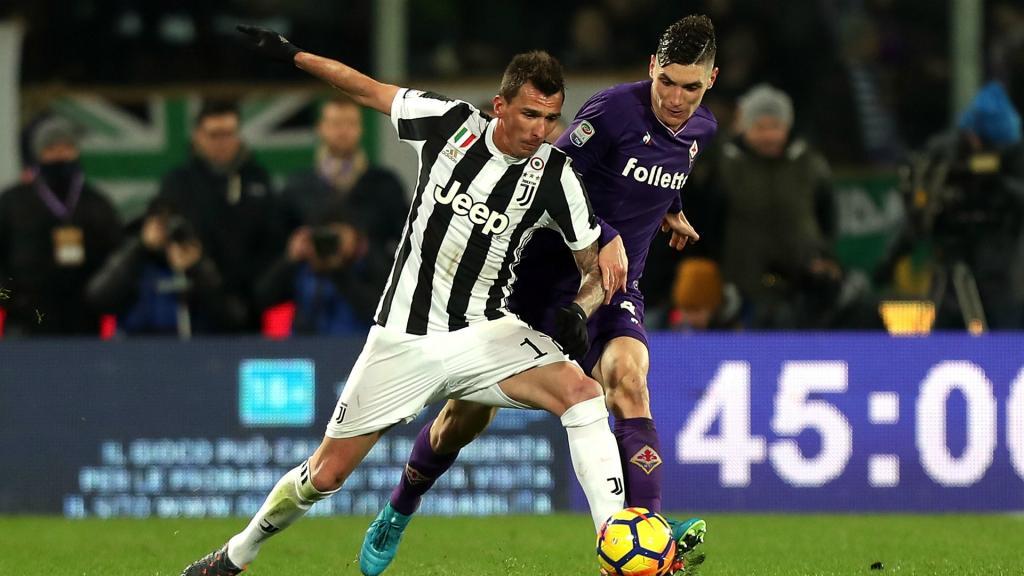 La Juventus sans Mandzukic contre Tottenham
