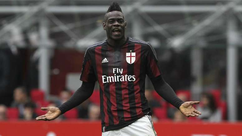 Balotelli has accused some AC Milan fans of lacking respect and gratitude. GOAL