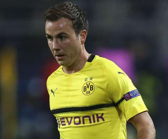 Mario Gotze will miss the game at Hertha. GOAL