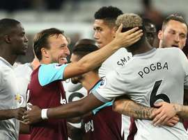 Noble and Pogba laughed it off. GOAL