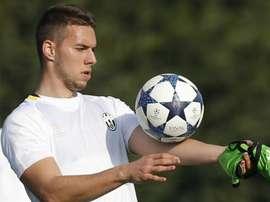Marko Pjaca, Juventus, Serie A. GOAL