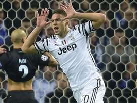 Marko Pjaca célèbre son but contre Porto en Ligue des champions. Goal