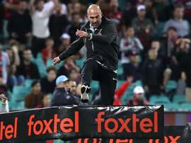Western Sydney Wanderers boss Babbel was sent off this weekend.  GOAL