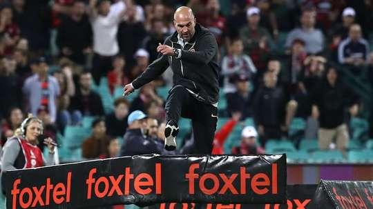 Western Sydney Wanderers boss Babbel was sent off this weekend.  GOAL