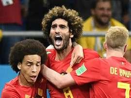 Espetacular! Bélgica vira no último minuto sobre o Japão.Goal