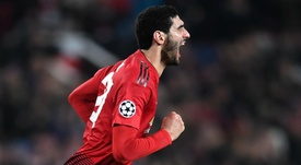 Manchester United Young Boys Champions League-. Goal