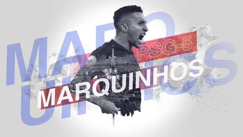 A coluna de Marquinhos na 'Goal'. Go