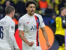 Marquinhos analyse la situation du PSG. Goal