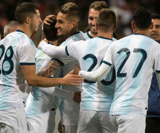 Argentina vence Marrocos sem Messi. Goal