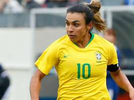 Marta is one of football's most famous female players. GOAL