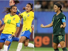 Marta and Kerr had great games for Brazil and Australia respectively. GOAL