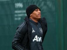 Solskjaer uncertain of severity of Martial's injury. GOAL
