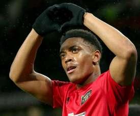 Martial s'est relevé, et Manchester United aussi. AFP