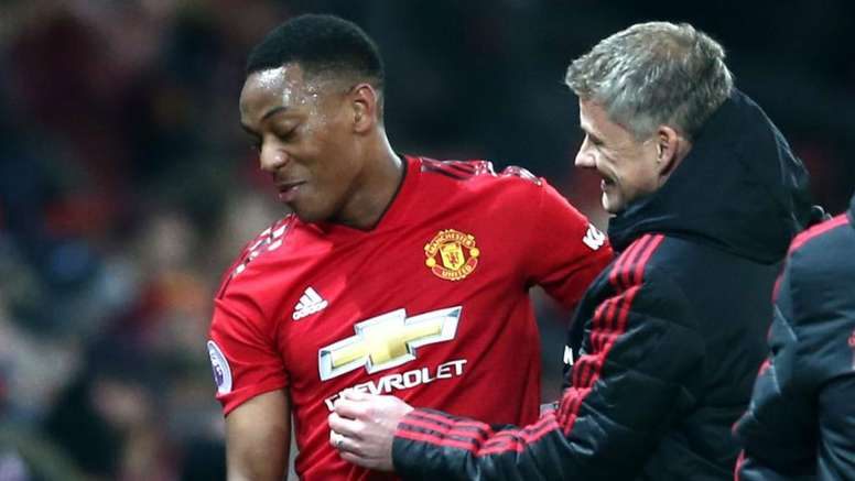 Martial grateful for boss's support. GOAL