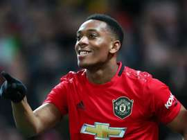 Solskjaer tells Martial to toughen up as Man Utd striker targets 20-goal mark. AFP