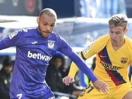 Leganés paga pela incompetência do Barcelona. Goal