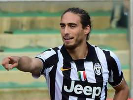 Martin Caceres has rejected the offer of a contract from AC Milan.