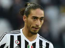 Martin Caceres in action with his former team, Juventus. Goal
