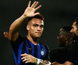 Inter new boy Lautaro Martinez denies Zenit in six-goal thriller