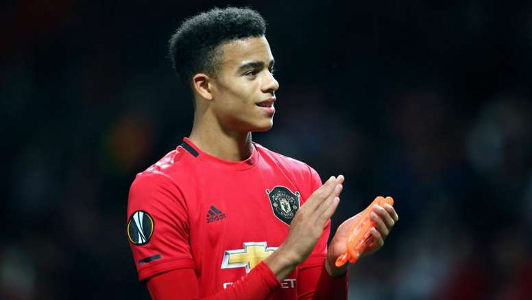 Mason Greenwood provided the only goal in a big night for the youngsters. GOAL